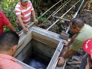 Construcción de Cajas Colectoras de Agua Potable